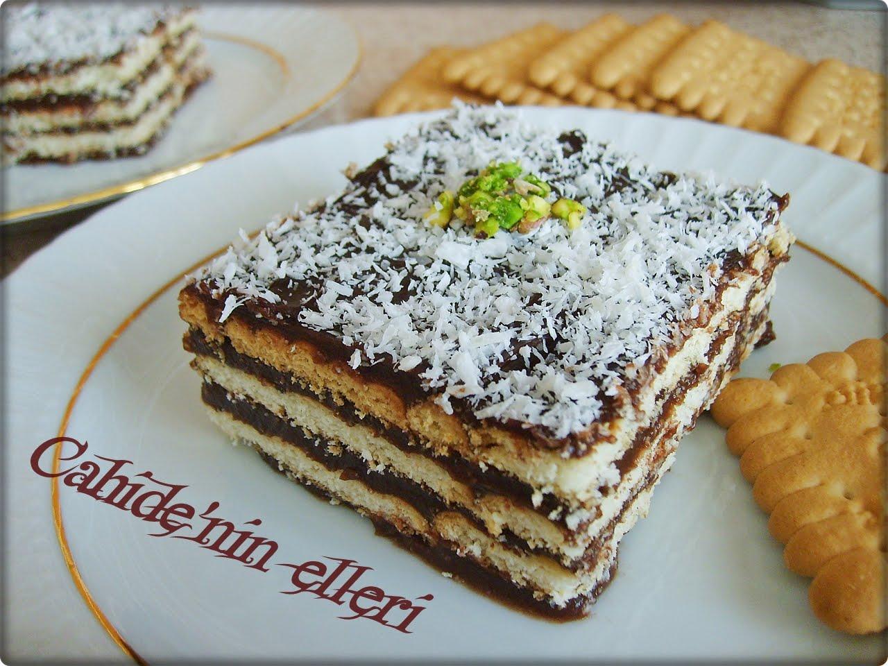 Çikolatalı Bisküvili Tatlı