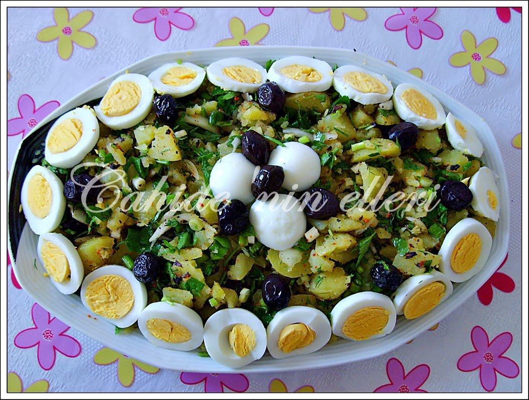 Patatesli Kereviz Salatası Tarifi