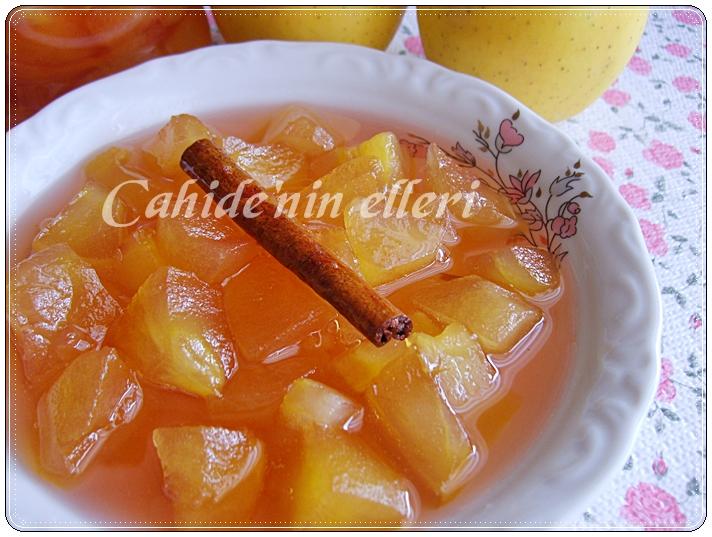 Tarçın ile elma reçeli nasıl yapılır. Tarifler ve biraz tavsiye