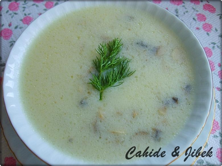 mantar çorbası tarifleri