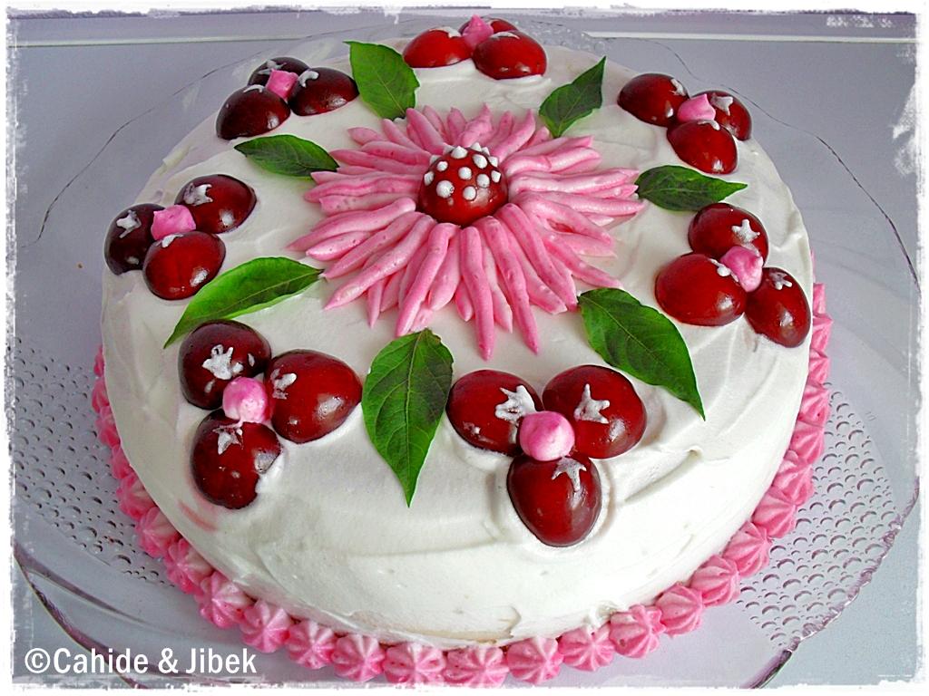 KİRAZLI PASTA » Yaş pastalar kekler