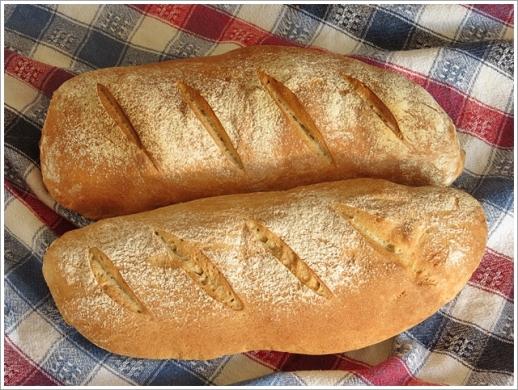 İşte bu sabah ki mis kokulu ekmeğim :)