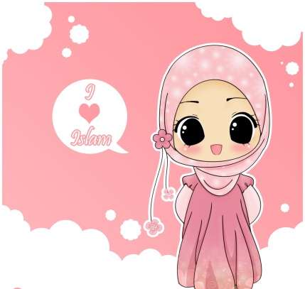 i-love-islam-hijab-drawing-cute