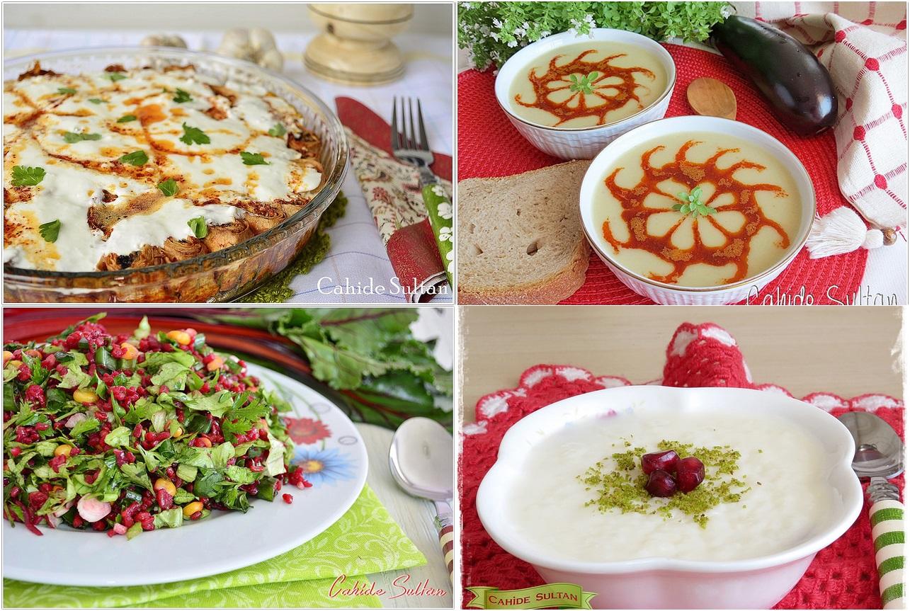 30 günlük iftar menüsü | Cahide Sultan بسم الله الرحمن الرحيم