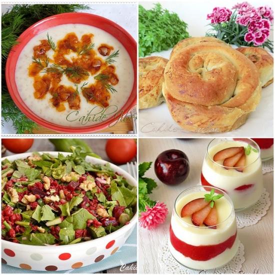 2014 örnek iftar menüsü   Cahide Sultan بسم الله الرحمن الرحيم