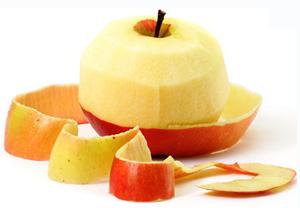 apple-peeled