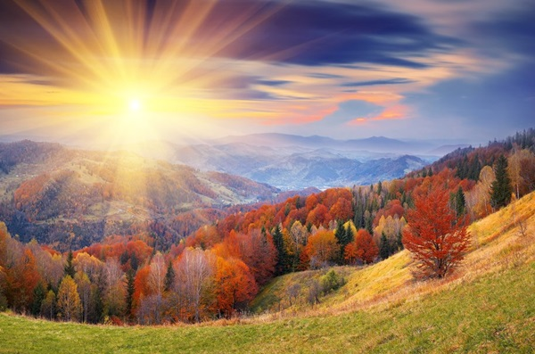 131109__hills-trees-foliage-autumn-sky-clouds-sun-rays_p