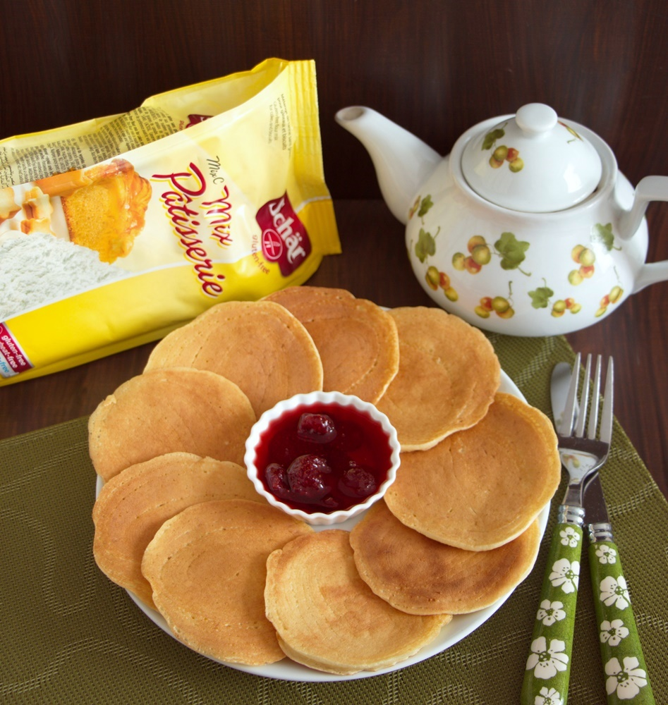 Glutensiz Un İle Pankek Tarifi