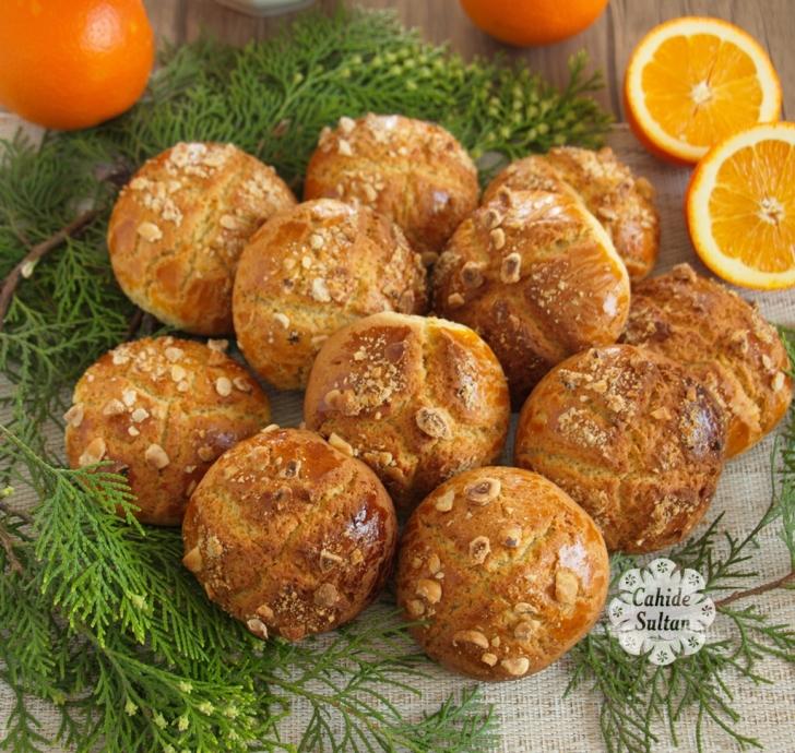 portakallı kurabiye cahide